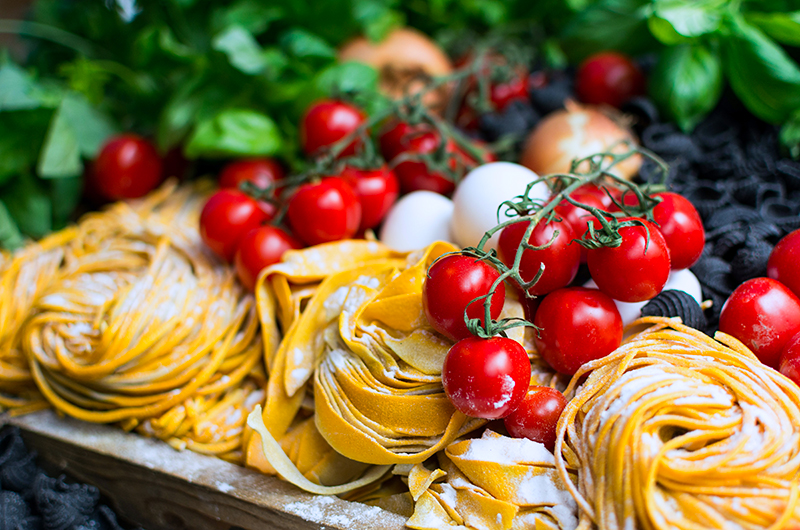 Italian Food served at the Portofino Italiana